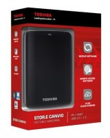 Внешний жесткий диск HDD 2,5 Toshiba Stor.E Canvio 1Tb USB 3.0 Black
