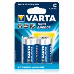 Батарейка Varta LR14-2BL, High Energy. Тип C