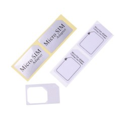 micro sim adapter for iPhone 4 iPad 3G цвет белый