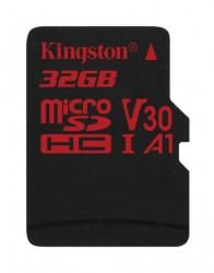 Карта памяти MicroSDHC 32Gb Kingston UHS-3 до 100Mb/s