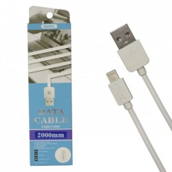 Кабель USB REMAX RC-006i Lightning 2м. (White)