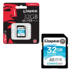 Карта памяти Kingston Canvas Go SDHC 32 ГБ [SDG/32GB]