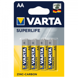Батарейка Varta SUPERLIFE  AA/LR6 1.5V  - 4шт.