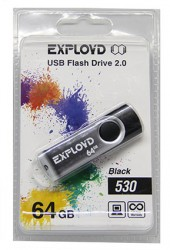 USB флешка 64Gb Exployd Black 530