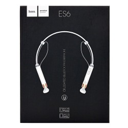 Наушники Bluetooth HOCO ES6 White с микрофоном