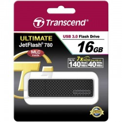 Флешка USB TRANSCEND Jetflash 780 16Гб Ultimate, USB3.0, черный (TS16GJF780)