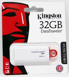 USB флешка 32GB Kingston DataTraveler G4 USB 3.1