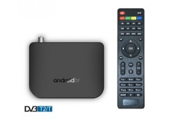 Приставка Смарт ТВ INVIN M8S + DVB T2 (Android TV Box)