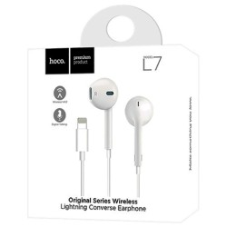 Наушники Apple Hoco L7 Lightning с микрофоном
